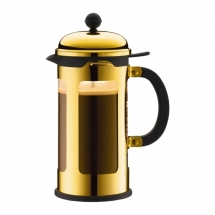 11172-17 French Press coffee maker, 8 cup, 1.0 l, 34 oz, ss Gold bodum