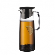 11575-01Ice green tea jug, 1.2l, 40oz Black bodum
