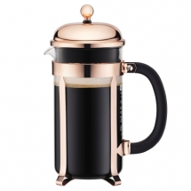 11652-18 Coffee maker, 8 cup, 1.0 l, 34 oz Copper bodum