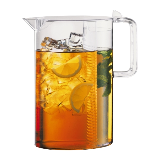 1470-10US Ice tea jug with filter, 1.5 l, 51 oz Transparent bodum