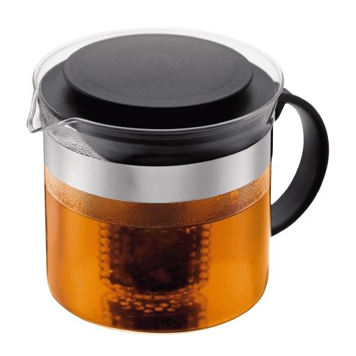 1875-01 Tea pot, 1.0 l, 34 oz Black bodum