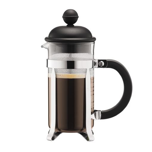 1913-01 Coffee maker, 3 cup, 0.35 l, 12 oz Black bodum