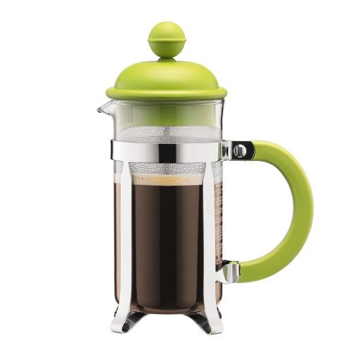 1913-565 Coffee maker, 3 cup, 0.35 l, 12 oz Lime green bodum