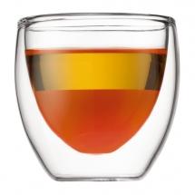 4557-10US4 Glass, double wall, extra small, 0.08 l, 2.5 oz Transparent bodum