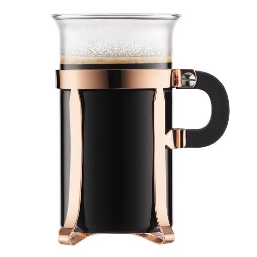4912-18 2 pcs coffee glass, large, 0.3 l, 10 oz Copper bodum