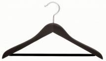 espresso suit hanger