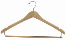natural hanger with bar
