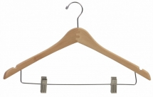 natural hanger with clip